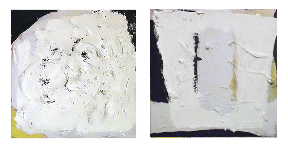 UNTITLED, 20 x 20 cm's each, Oil on linen, EC 2013