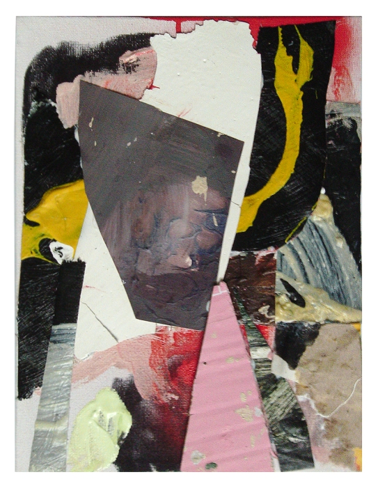 Observe the Obverse,  Mixed media on Canvas,  18 x 24 cm approx,  By EC 2014