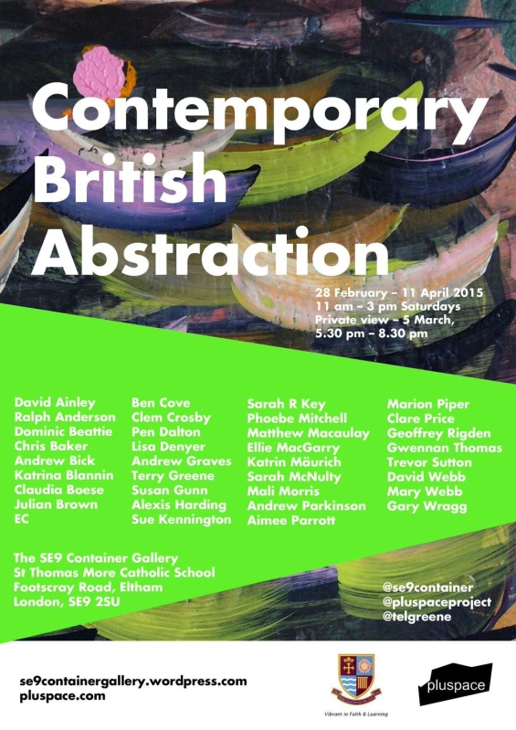 CONTEMPORARY BRITISH ABSTRACTION 2015 POSTER