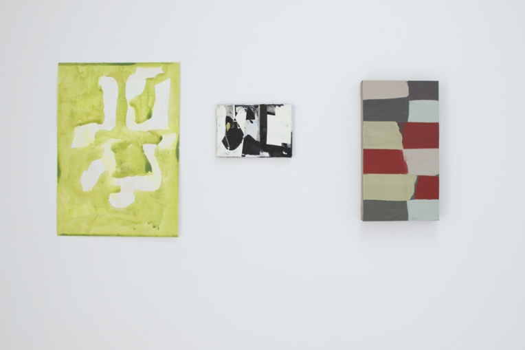 Installation shot. From left to right Vincent Hawkins, EC, Sue Kennington.